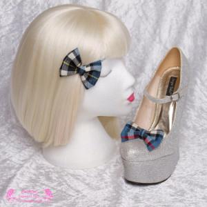 Tartan Clip Shoes
