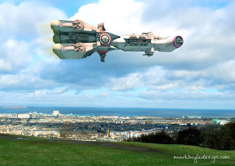 Star Wars in Edinburgh 3
