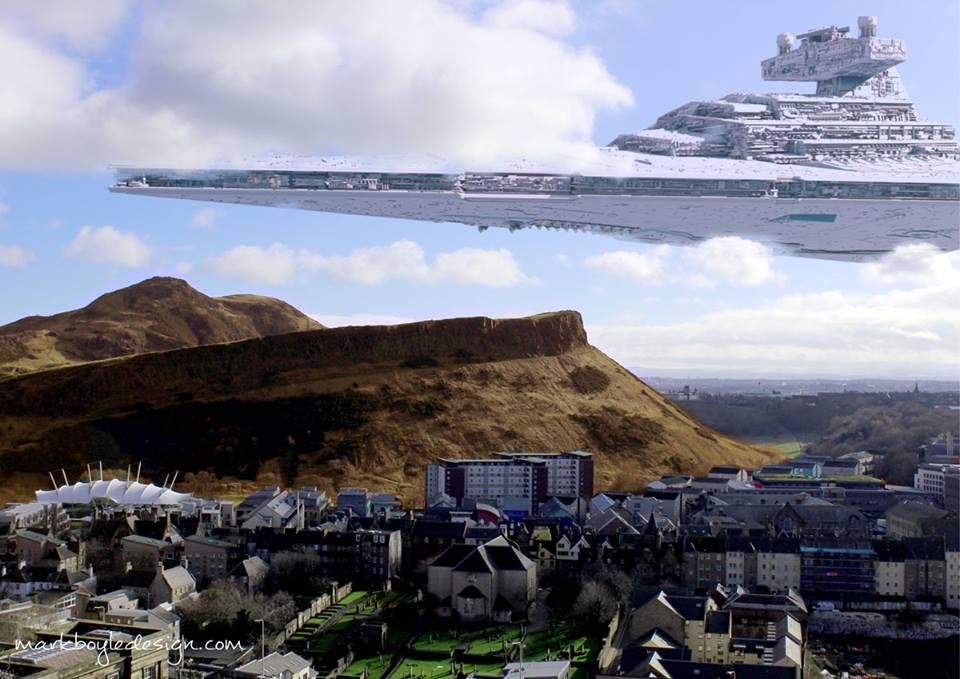 Star Wars in Edinburgh 8