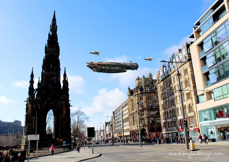 Star Wars in Edinburgh 9